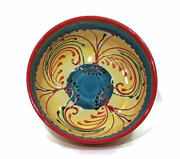 El Poyeton Ceramic Bowl, Hand Painted Serving Dish, Made in Spain Art Pottery
