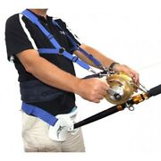 Surecatch Big Game Stand Up Large Rod Butt Rest Fighting Belt And Harness