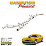 Magnaflow 3 Cat Back Dual Exhaust System 2014-2015 Chevy Camaro 6.2l V8 15167