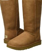 Ugg Classic Tall Ii Snow, Winter Boots Womens Boots Size 6 176538  ugg Tall