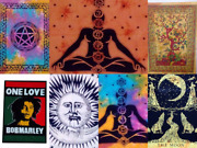 Cotton Mandala Wall Hanging Tapestry Poster Bulk Hippie Wholesale Lot Tapestry
