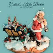 Porcelain By Capodimondeand039 Santa Claus With Sleigh