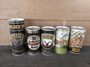 Lot Of 5 Schells Beer Can 70s Tab Schell Brewing New Ulm Mn Empty