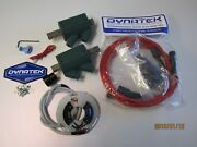 Fits Suzuki Gs550 77-85 Dyna S Ignitiondyna Coils And Plug Leads Complete Kit
