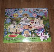 Melissa And Doug Teatime Kittens Floor Puzzle 48 Pieces 2feetx3feet Toysrus Excl