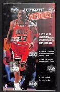 1999-2000 Upper Deck Ultimate Victory Basketball Sealed Hobby Box