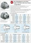 Atlas 5c Power Pull Back Collet Chuck A2-5 Mount Cpb-5ca5 Fits Haas Mazak