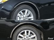For 2013-2018 Toyota Avalon 4 Piece Stainless Steel Wheel Well Accent Trim