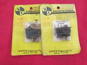 Rocker Switch - 12volt - 20 Amp - 2 Switches - One Pair New
