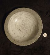 Orcas Island Studio Signed Art Pottery Bowl Charles Gorrell Gray Grey Gloss