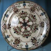 Antique Buffalo Pottery Hand Painted 11 inch DINNER PLATE