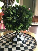 NEW! MACKENZIE-CHILDS SMALL ARCHITECT COURTLY CHECK CENTERPIECE! GORGEOUS!