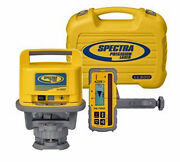Spectra Precision Ll500 Rotary Laser Level W/hl450 Receiver And Hard Case