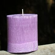 80hr Indigo Lavender Triple Scented Oval Candle Gifts Free Shipping / Postage