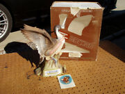 Vintage 1978 Pintail Duck Large Ski Country Decanter With Original Box + Issue