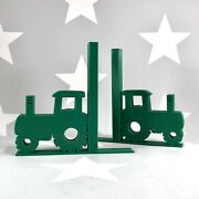 Tractor Bookends - 3d Printed - Childrens Bedroom - Farm Life - Farm Yard