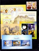 Romania Collection Stamps Plate Blocks, Mnh 2005