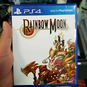 Rainbow Moon Sony Playstation 4, 2016 Limited Run With Stickers. Sold Out