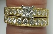 New Leo Bridal Collection 14k Gold 1.25ct Diamond Engagement And Wedding Rings