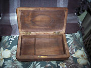 Hand Carved Wood Japanese Jewelry Box