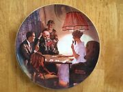 Edwin M Knowles Collector's Plate   This Is The Room That Light Made