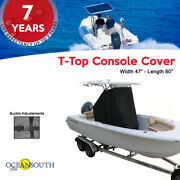 Oceansouth Center Console T-top Cover Black Small Size