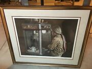 Priced Reduced. Ken Danby Andldquodeliciousandrdquo Signed Framed Watercolor Painting.