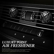 Interior Luxury Point Air Freshener Diffuser Perfume 3type 2ea For Universal Car