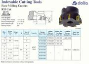 Apkt Indexable Face Milling Cutter 8 Arbor 2-1/2 Made In Poland