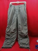 Us Army Extreme Cold Weather Pants Primaloft Large Regular Ads Tactical G-3 L7