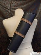 High Quality Medieval Leather Quiver. A Must Have For Every Archer Larp,cosplay