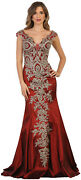 Sale Prom Evening Special Occasion Dress Stretchy Fitted Red Carpet Formal Gown