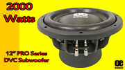 Oe Audio Oe-12.2 30.5cm 2000watts Voiture Subwoofer Dual 2 Neuf Solde Performant