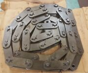 C2120 Cottered Heavy Roller Chain 10 Ft New Usa Atlas W/free Connector Link