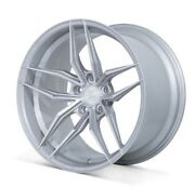 20 Ferrada Fr5 Machined Silver Wheels Rims Fits Ford Mustang Gt 2015 - Present