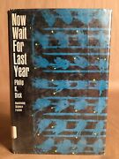 Now Wait For Last Year By Philip K Dick 1966 First Edition/print