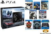 Ps4 500gb Limited Edition Star Wars Battlefront Bundle + 10 Games New