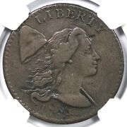 1794 S-42 R-4 Ngc Vf Details Liberty Cap Large Cent Coin 1c