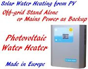 2kw Off-grid Stand Alone Pv Photovoltaic Solar Hot Water Heating Heater Mppt