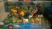 Lego Legends Of Chima - Store Display Case - 70003 70004 70005 70006 Laval Waks