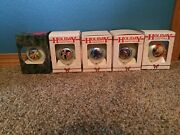 Lot Of 5 Disney Collectible Mickey Beauty And The Beast Christmas Ornaments