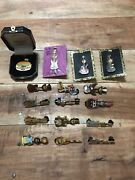 Hard Rock Cafe Pins Lot Of 16 Limited Editions And Rare Pins