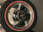 Honda Cbr 250r Stock Used Rear Wheel Assembly With Tire 2011-2013