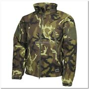 Czech Army Camo M95 Tactical Premium Waterproof Softshell Jacket - Brand New