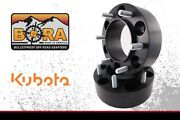 Kubota B7800 3.00 Rear Wheel Spacers 2 By Bora Off Road - Made In The Usa