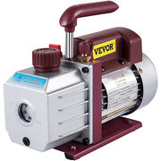 4.5 Cfm Single-stage Rotary Vacuum Pump Hvac/auto Ac 4.5cfm 1/3hp 1/2acme Inlet