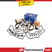 Timing Belt Kit Water Pump Cover Gasket Fit Toyota 4runner Tundra Tacoma 5vzfe