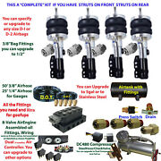 Air Suspension Kit-complete Struts Front And Rear Air Ride