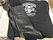 Harley Davidson Style Womens Extra Small Leather Chaps