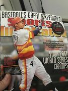 Astros 2017 World Series Champs Sports Illustrated June 30 2014 Good Conditionandnbsp